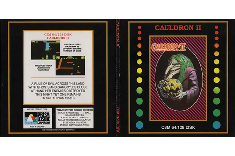 Cauldron 2: The Pumpkin Strikes Back – C64-Wiki