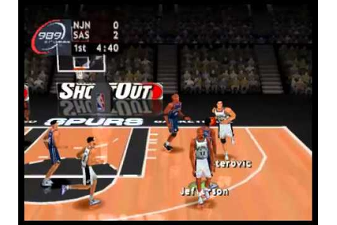 Playstation - NBA ShootOut 2004 .flv - YouTube