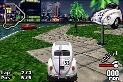 Disney's Herbie: Fully Loaded - GBA - Review