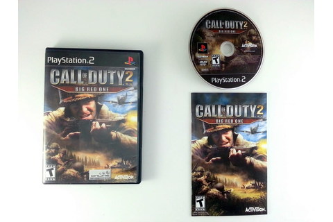Call of Duty 2 Big Red One game for Playstation 2 ...