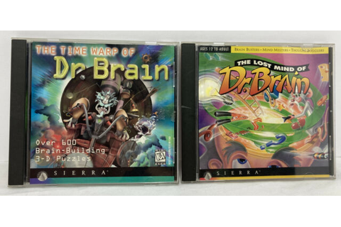 Time Warp of Dr. Brain (PC, 1996) for sale online | eBay