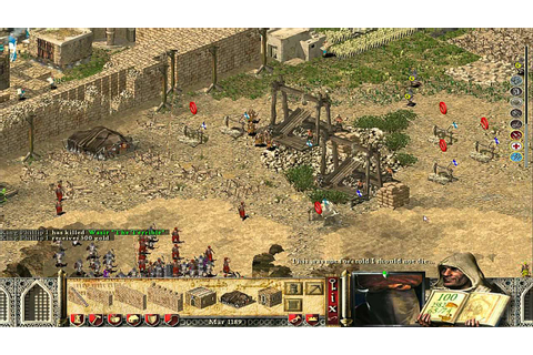 Stronghold Crusader Extreme PC Games Gameplay - Major ...