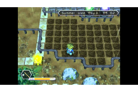 Innocent Life A Futuristic Harvest Moon Day 1-4 - YouTube