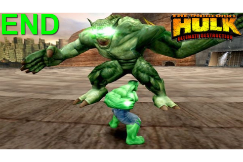 The Incredible Hulk: Ultimate Destruction PS2 Gameplay #11 ...