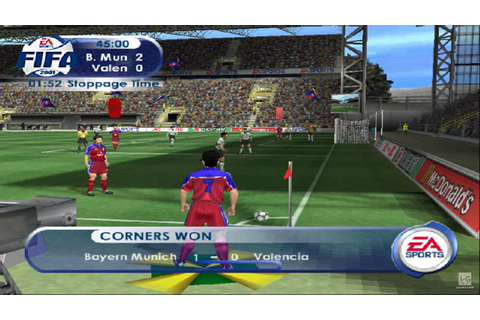 FIFA 2001 PS2 Gameplay HD - YouTube