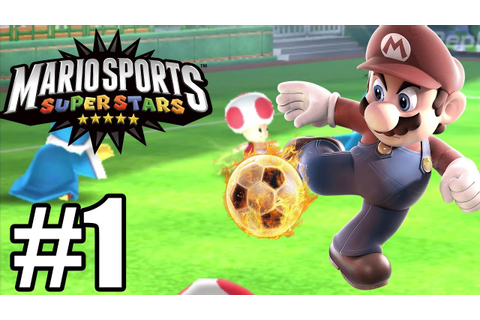 Mario Sports Superstars Gameplay Walkthrough Part 1 ...