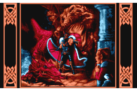 Dragons of Flame (1989) Amiga game