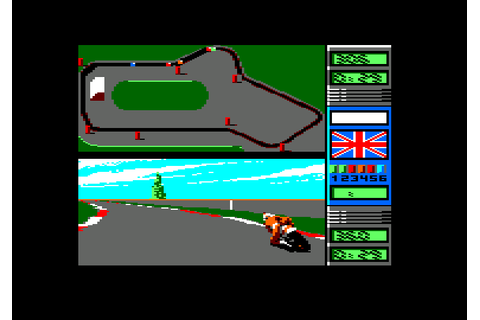 500cc Grand Prix 2 for Amstrad CPC (Microids, 1991). Also ...
