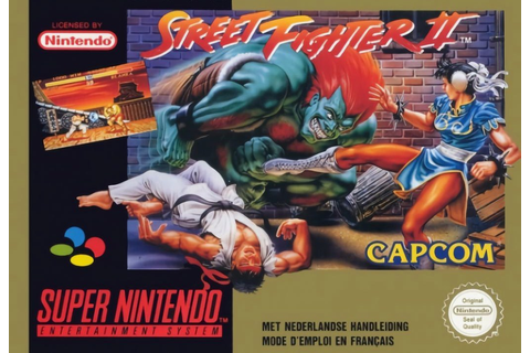 Street Fighter II : The World Warrior - Jeux - RomStation