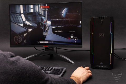 Corsair One i160 gaming PC review: small, powerful, and ...