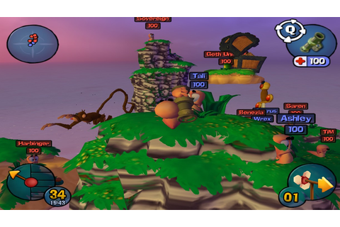 Worms 3D Game ~ GETPCGAMESET