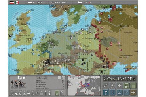 Commander: Europe at War Windows, Mac, PSP, DS game - Mod DB