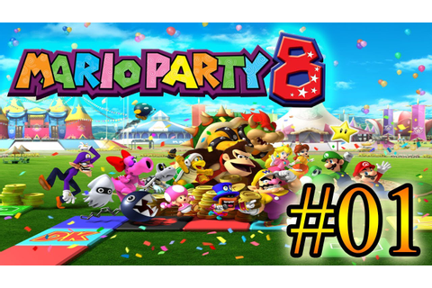 Let's Play : Mario Party 8 - Parte 1 - YouTube