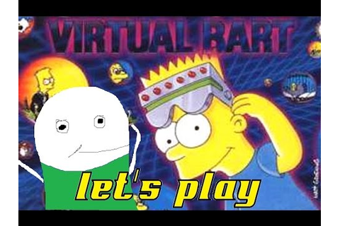 Virtual Bart | Video Game Playthrough | Sega Genesis - YouTube