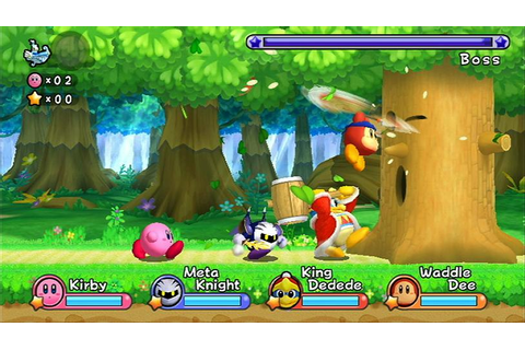 Preview: Kirby's Adventure Wii