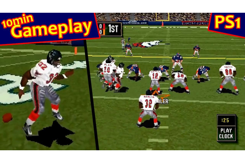 Madden NFL 2000 ... (PS1) 60fps - YouTube