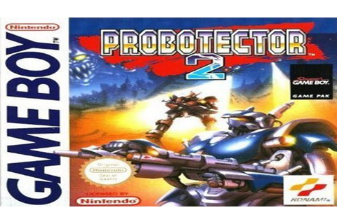 PROBOTECTOR 2 (Contra 3: Alien Wars) - Game Boy Longplay ...