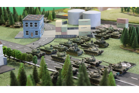 Sparker's Wargaming Blog: Team Yankee - Free for All Scenario
