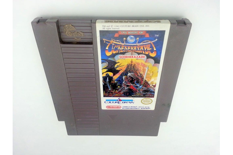 The Magic of Scheherazade game for Nintendo NES - Loose ...