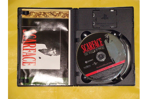 Scarface Money Power Respect Play Station 2 DVD Game 2006 ...