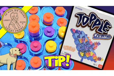 Topple Chrome Family Game, Stack & Balance To Win! - YouTube