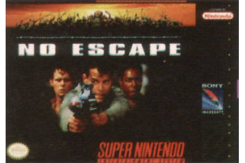 Retro Game Guide - SNES - No Escape