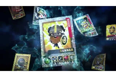 Official World of Warriors - Trading Cards (TV Advert ...