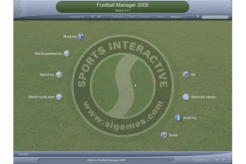 Football Manager 2005 - Games.cz