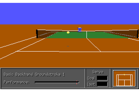 Download 4D Sports Tennis sports for DOS (1990 ...