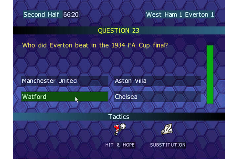 Download Championship Manager Quiz - My Abandonware