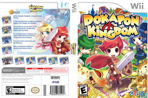 Games Covers: Dokapon Kingdom - Wii