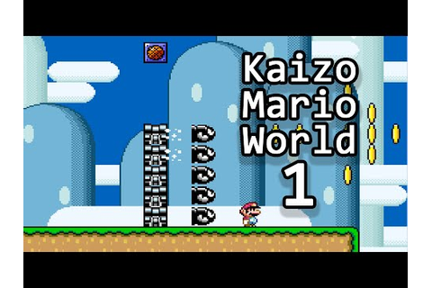 [TAS] Kaizo Mario World by Guy Collins - Big Mario ...