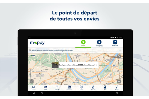 Mappy- Itinéraire & Vie locale - Android Apps on Google Play