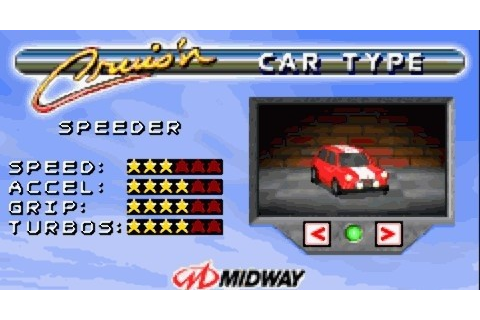 Cruis'n Velocity for GBA | LisiSoft