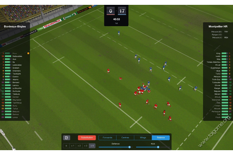 Pro Rugby Manager 2015 - Tai game | Download game Mô phỏng