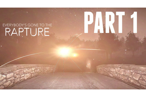 Everybody's Gone To The Rapture Walkthrough Part 1 - INTRO ...