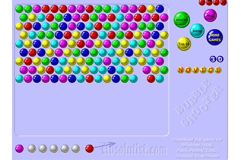 Bubble Shooter - Play the popular bubbleshooter game
