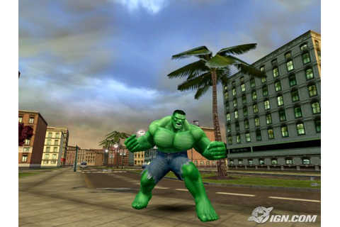 The Incredible Hulk: Ultimate Destruction Screenshots ...