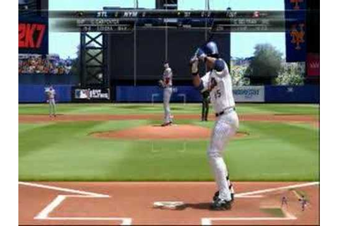 Major League Baseball 2K7 - YouTube