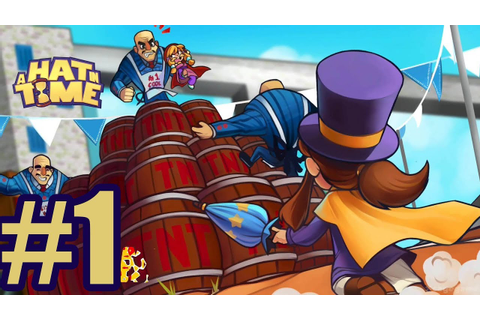 A Hat in Time Gameplay Walkthrough Part 1 - YouTube