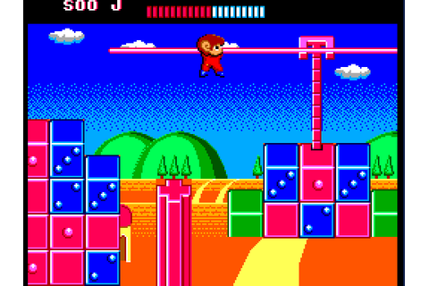 Alex Kidd: The Lost Stars (1988) by Sega Master System game