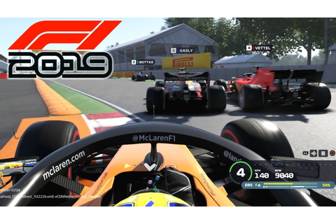 F1 2019 EXCLUSIVE GAMEPLAY - Race in CANADA with Lando ...
