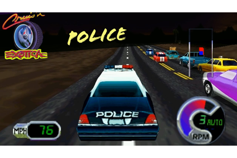 Cruis´n Exotica N64 - Police Car - Las Vegas - YouTube