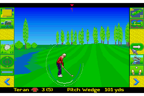 Microprose Golf (1991) by The Thought Train Amiga game