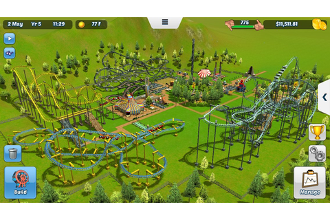 A Port of 'Rollercoaster Tycoon 3' With NO IAP Just Hit ...