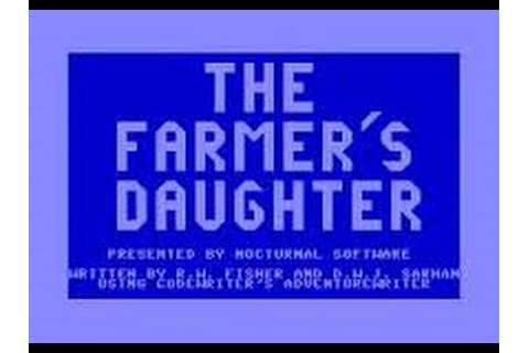The Farmer's Daughter Review for the Commodore 64 by John ...