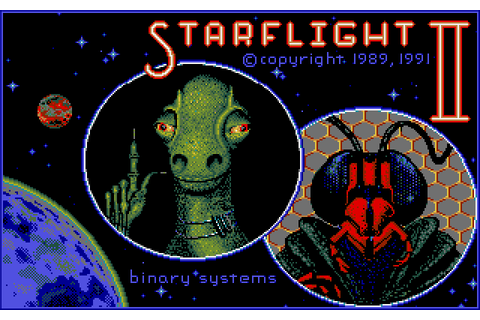 Starflight 2: Trade Routes of the Cloud Nebula (1991) by ...