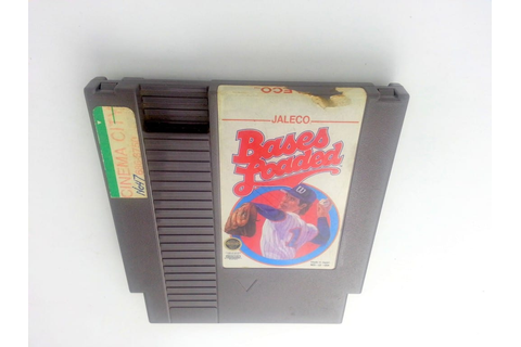 Bases Loaded game for NES (Loose) | The Game Guy