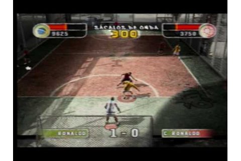 Fifa Street 2 ps2 gameplay - YouTube