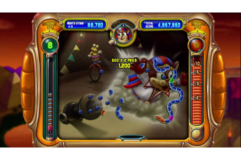 Peggle Nights Xbox 360 Gameplay (HD) - YouTube